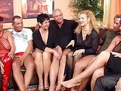 Real german mature swinger party with 4 couple change wife, Blowjob, Hardcore, Mature, Big Boobs, Group Sex, MILF, Gangbang, Swingers, German, HD Videos, Big Natural Tits, Mature Swingers, Swinger Party, Mature Wife, Mature Couple, Mature Swinger Party, A movies at freekiloporn.com