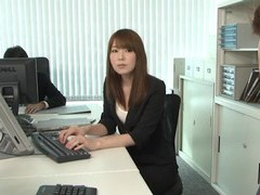 Messy fucking in the office with seductive secretary ichika kamihata movies