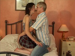 Adorable brunette desire drops her clothes to have a quickie, Couple, Hardcore, British, Pussy Licking, Blowjob, Small Tits, Cowgirl, Doggystyle, Cumshot, Miniskirt, Skinny movies at kilomatures.com