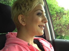 Horny blonde chick mai bailey spreads her legs to masturbate in the car, Solo Models, Masturbation, British, Car Fucking, Big Tits, Short Hair, Pussy, Toys videos