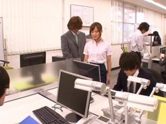 Hardcore fucking in the office with hot ass coworker kokone mizutani movies