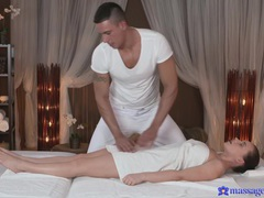 Hardcore fucking on the massage table ends with a creampie for wendy moon, Couple, Hardcore, Massage, Oiled, Brunettes, Natural Tits, Hot Ass, Fingering, Pussy, Blowjob, Pornstars, Cougars, Missionary, Cumshot videos