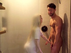 One of the things emma starletto loves is drooling on a big cock, HD POV, Couple, Hardcore, Blondes, Long Hair, Shower, Wet T-shirt, Small Tits, Missionary, Cowgirl, Handjob, Doggystyle movies