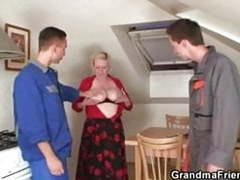 Fixing the machine, fucking the busty granny, Mature, Tits, Old &,  Young, Fucking, Grandma, Old, Busty Granny, Busty Fuck, Grandma Friends Channel, Help My Wife Channel, Busty, Machine, Granny Fuck, Fix, Granny Machine videos
