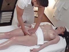 Unexpected breast and pussy massage, Big Tits, Pussies, Pussy Massage, Massages, Unexpected, Spy, CzechAV, Czech Massage Channel, Girl, Breast, Salon, Massage Salon videos