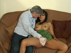 Adorable chick amira de leon gets licked and dicked by an older man, Couple, Hardcore, British, Brunettes, Long Hair, Natural Tits, Blowjob, Pussy Licking, Panties, Missionary, Cowgirl, Fingering, Shaved Pussy, Doggystyle videos