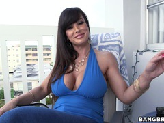 Horny milf lisa ann gets her tight pussy pounded from the side, Couple, Hardcore, Pornstars, MILF, Brunettes, Long Hair, Jeans, Big Black Cock, Big Tits, Fake Tits videos