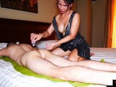 Milf amateur thai massage with blowjob, Mature, Asian, Thai videos