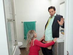 Cheating wife emily right rides his best friend in the bathroom, Couple, Hardcore, Pornstars, Long Hair, Big Tits, Natural Tits, Pussy, Shaved Pussy, Titjob, Blowjob, Asshole, Tattoo, Cowgirl, Housewife movies at freekiloclips.com