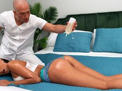 Trophy wife azul hermosa gets fucked by a lucky masseur. hd, Couple, Hardcore, Massage, Oiled, Panties, Hot Ass, Brunettes, Pornstars, Big Tits, Fake Tits, Fetish, Foot Fetish, Pussy Licking, Tattoo, Cowgirl, Pussy, Shaved Pussy, Long Hair, Cumshot videos