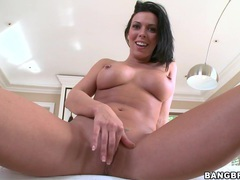 Amazing bj at home by adorable wife rachel starr with pierced nipples, HD POV, Couple, Hardcore, Pornstars, Brunettes, Big Tits, Fake Tits, Blowjob, Handjob videos