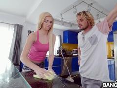 Cleaning lady tiffany watson gets her cunt licked and fucked, Couple, Hardcore, Blondes, Long Hair, Shorts, Natural Tits, Socks, Asslick, Pussy Licking, Blowjob, Handjob, Missionary, Pussy movies at freekiloclips.com