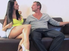 Wild fucking on the sofa with cock hungry pornstar brittany andrews, Couple, Hardcore, Pornstars, MILF, Brunettes, Long Hair, High Heels, Big Tits, Fake Tits, Pussy, Blowjob, Handjob, Thong, Pussy Licking, Missionary movies at freekilosex.com