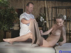 Hot ass cutie angel piaff massaged and fucked by an older guy, Couple, Hardcore, Massage, Oiled, Tattoo, Natural Tits, Pussy, Blowjob, Cowgirl, Doggystyle, Handjob, Cumshot, Babes, Czech movies at freekiloclips.com