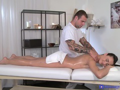 Hot ass model anna rose massaged and fucked by a handsome dude, Couple, Hardcore, Brunettes, Massage, Oiled, Hot Ass, Pussy, Shaved Pussy, Long Hair, Handjob, Cowgirl, Missionary, Small Tits videos