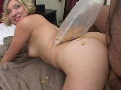 Amateur blondie crystal gets fucked by a dirty fat dude on the bed, Couple, Hardcore, Natural Tits, Tattoo, Blowjob, Cowgirl, Missionary, Doggystyle, Fetish, Food Fetish, Cum In Mouth, Cumshot movies at kilopills.com
