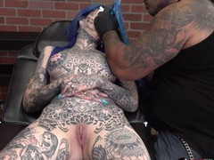 Amber luke gets a new nose tattoo, Fetish, Tattoo, Long Hair, Natural Tits, Pussy, Shaved Pussy movies at kilopills.com