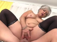 Cock hungry old women enjoy taking hard dicks in their pussy and, Mature videos