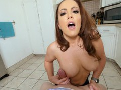 Naughty chick carmen valentina gives a titjob and gets fucked, Couple, Hardcore, HD POV, Pornstars, MILF, Blowjob, Long Hair, Titjob, Big Tits, Natural Tits, Fingering, Doggystyle, Missionary videos