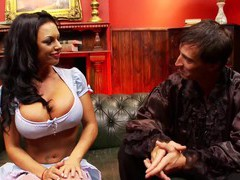 Busty brunette milf farrah fox opens her legs for hardcore fucking, Couple, Hardcore, Pornstars, Brunettes, Long Hair, Lingerie, Stockings, Fishnet, MILF, Big Tits, Fake Tits, Pussy, Shaved Pussy, Blowjob, Doggystyle, Missionary videos