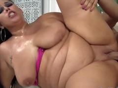 Sexy bbws enjoy their plump pussies getting plowed deep and good with hard dicks, BBW videos