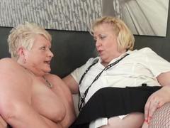 Dirty mature sluts juicy ginger and lexie cummings have lesbian sex, Mature, Mature Lesbian, Granny, BBW, Short Hair tubes