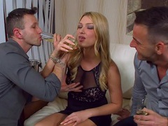 Double penetration threesome with cum loving blondie lucy heart, Threesome, MMF, Hardcore, Blondes, Long Hair, Pussy Licking, Blowjob, Anal, Double Penetration, Pussy, Natural Tits, Cumshot, Handjob, Cum In Mouth videos