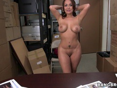 Awesome vanessa luna gets her shaved pussy filled with a big cock, Couple, Hardcore, Pornstars, MILF, Big Tits, Fake Tits, Long Hair, Pussy, Shaved Pussy, Blowjob, Missionary movies at freekilomovies.com