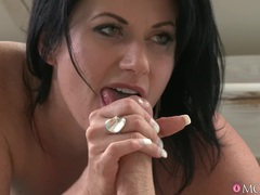 Horny brunette celine noiret spreads her legs for a stiff pecker, Couple, Hardcore, Brunettes, Pornstars, MILF, Lingerie, Stockings, Nylon, Blowjob, Ball Licking, Fingering, Missionary, Big Tits, Natural Tits, Doggystyle movies at freekilomovies.com