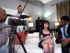 Tattooed pornstar charlotte sartre gets fucked by black dudes, Hardcore, Gangbang, Long Hair, Tattoo, Brunettes, Handjob, Blowjob, Big Black Cock, Big Cocks, Small Tits, Skinny, Doggystyle, Cowgirl, Pussy, Shaved Pussy, Anal, Double Penetration videos