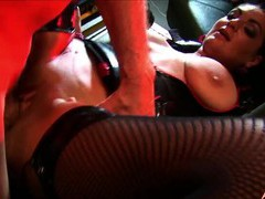 Naughty babes kit and kat lee get fucked by one older man, Threesome, FFM, Hardcore, Pornstars, Lingerie, Stockings, Fishnet, Blowjob, Missionary, Doggystyle, Latex, Brunettes movies at freekilomovies.com
