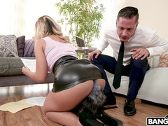 Oiled blonde milf assh lee moans during hardcore ass pounding, Couple, Hardcore, Miniskirt, Toys, Pornstars, MILF, High Heels, Blowjob, Doggystyle, Pussy, Cowgirl, Long Hair, Anal videos