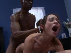 Hardcore interracial anal threesome with amber rayne and trisha rey, Threesome, FFM, Hardcore, Interracial, Big Black Cock, Big Cocks, Hot Ass, Cowgirl, Natural Tits, Blowjob, Doggystyle, Anal, Pussy, Shaved Pussy, Brunettes videos