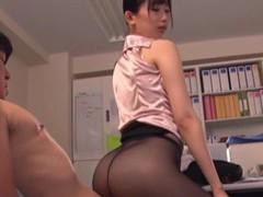Hot ass secretary kurokawa sumire enjoys having sex with her boss videos