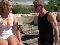 German outdoor amateur blowjob with cum mouth, Couple, Hardcore, Outdoor, Reality, German, Long Hair, Blowjob, Handjob, Clothed Sex, Cumshot, Cum In Mouth, Cum Swapping, Swallow videos