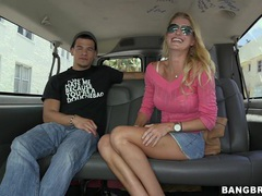 Hot blonde stranger avona dominica takes money for a quickie, Couple, Hardcore, Reality, Car Fucking, Blondes, Long Hair, Miniskirt, Bra, Panties, Fake Tits, Glasses videos