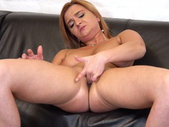 Horny mature ksukotzol spreads her legs to pleasure her cravings, Solo Models, Masturbation, MILF, Pussy, Shaved Pussy, Fingering, High Heels, Big Tits, Natural Tits, Panties movies at freekilosex.com