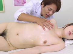 Japanese brunette, hanah had sex recently, uncensored videos
