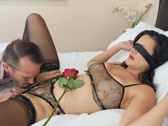 Erotic fucking on the bed with busty mature wife penny barber, Couple, Hardcore, Pornstars, MILF, Brunettes, Glasses, Big Tits, Fake Tits, High Heels, Lingerie, Stockings, Nylon, Pussy Licking, Panties, Handjob, Blowjob, Pussy, Shaved Pussy, Missionary movies at freekilosex.com