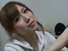 Naughty japanese girl miu fujisawa takes a large dick in her mouth movies at freekilosex.com