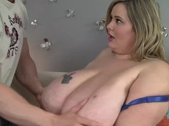 Bbw housewife mandy majestic enjoys getting fucked from behind, BBW videos