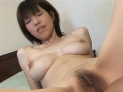 Natural boobs asian girl aya enjoys getting fucked in missionary videos