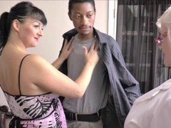 Interracial ffm threesome with matures lacey starr and devon breeze, Mature, Granny videos