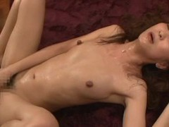 Hardcore fucking from behind ends with cum in mouth for an asian babe videos