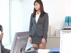 Quickie fucking in the office with hot ass secretary aya kisaki videos