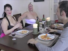 Ffm amateur threesome with chubby babes lacey starr and devon breeze, Mature, Granny videos