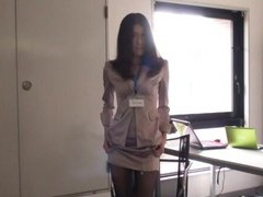 Pretty japanese secretary drops her panties to be fucked hard videos