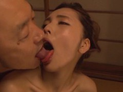Skinny japanese girl moans while getting fucked in prone-bone videos