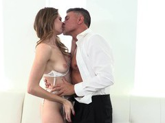Balls deep pussy and ass fucking ends with cum in mouth for ashley lane, Couple, Hardcore, Long Hair, Lingerie, Natural Tits, Blowjob, Missionary, Anal, Pussy, Shaved Pussy, Doggystyle, Cowgirl, Cum In Mouth, Cumshot videos