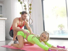 Fit pornstar emma hix works out and gets fucked in the butt, Couple, Hardcore, Sport, Shorts, Long Hair, Natural Tits, Fingering, Pussy, Shaved Pussy, Anal, Blowjob, Cowgirl videos